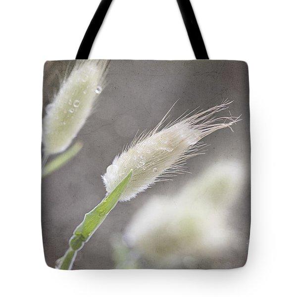 Dew Kissed Morning Tote Bag by Linda Lees