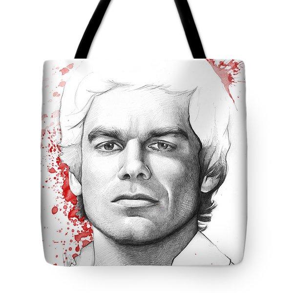 Dexter Morgan Tote Bag by Olga Shvartsur
