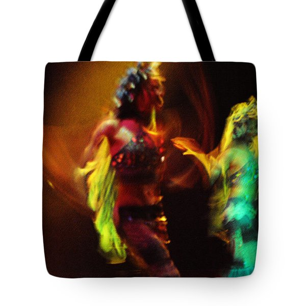 Diabolic. Passionate Dance Of The Night Angels Tote Bag by Jenny Rainbow