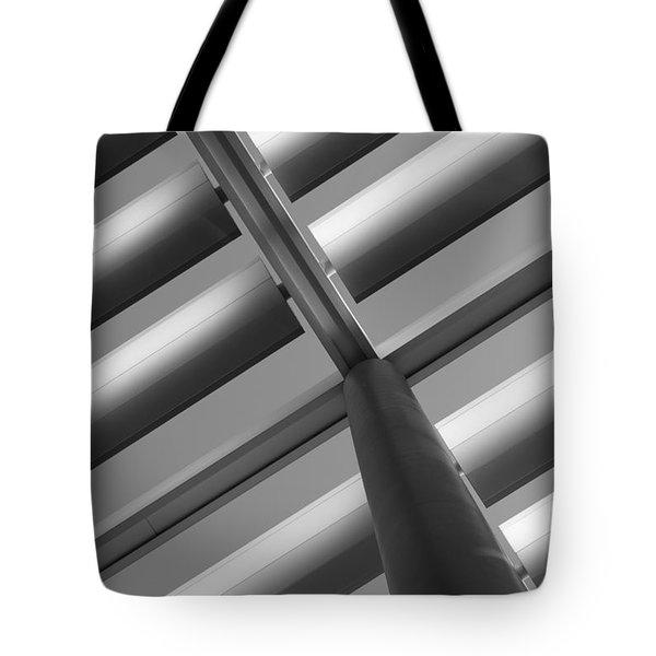 Diagonal Lines Tote Bag by Darryl Dalton