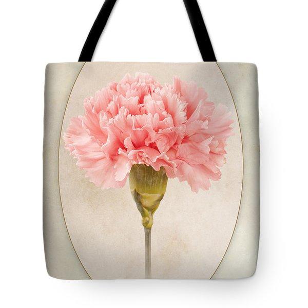 Dianthus Caryophyllus Carnation Tote Bag by John Edwards