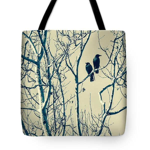 Differing Views Tote Bag by Caitlyn  Grasso