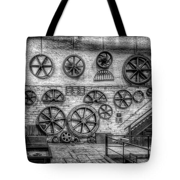 Dinorwig Quarry Workshop V2 Tote Bag by Adrian Evans