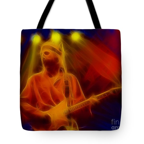 Dire Straits-4-fractal Tote Bag by Gary Gingrich Galleries