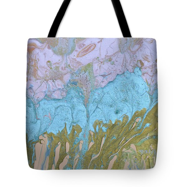 Disappearing In The Mist Tote Bag by Donna Blackhall