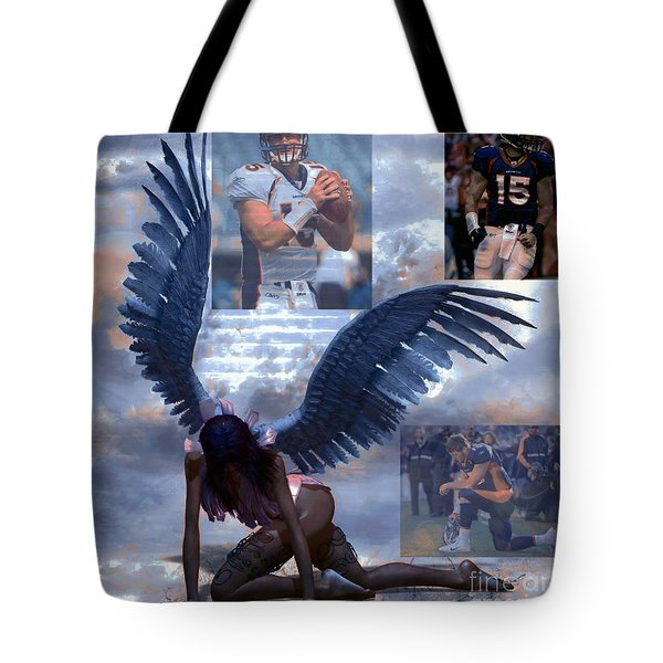Discarded Angel Tote Bag by M and L Creations