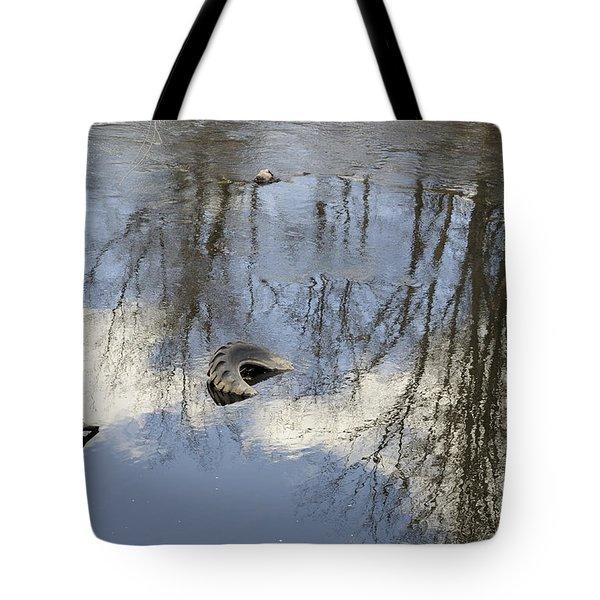 Discord Tote Bag by Luke Moore