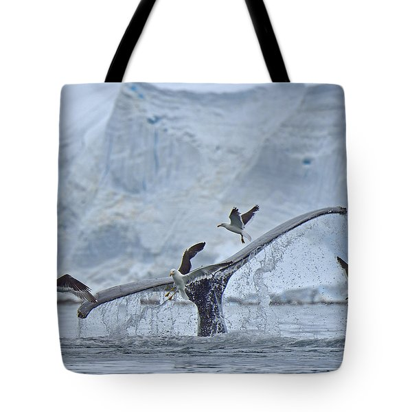 Disturbed Tote Bag by Tony Beck