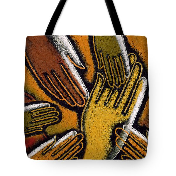Diversity Tote Bag by Leon Zernitsky