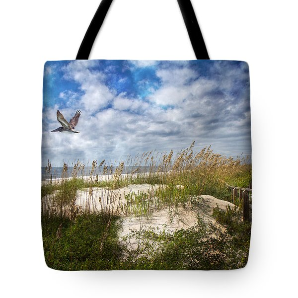 Divine Beach Day  Tote Bag by Betsy C Knapp