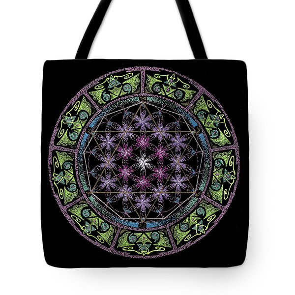 Divine Feminine Energy Tote Bag by Keiko Katsuta
