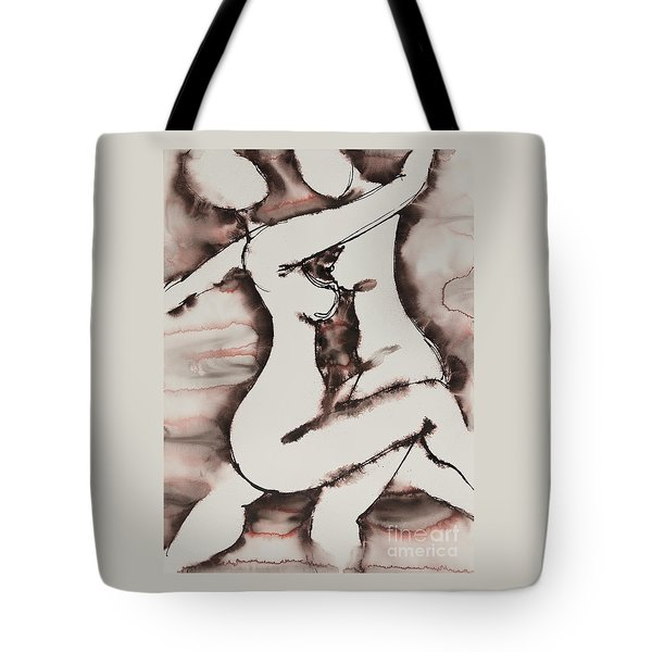 Divine Love Series No. 1411 Tote Bag by Ilisa  Millermoon