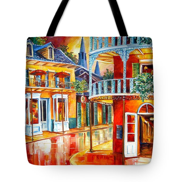 Divine New Orleans Tote Bag by Diane Millsap
