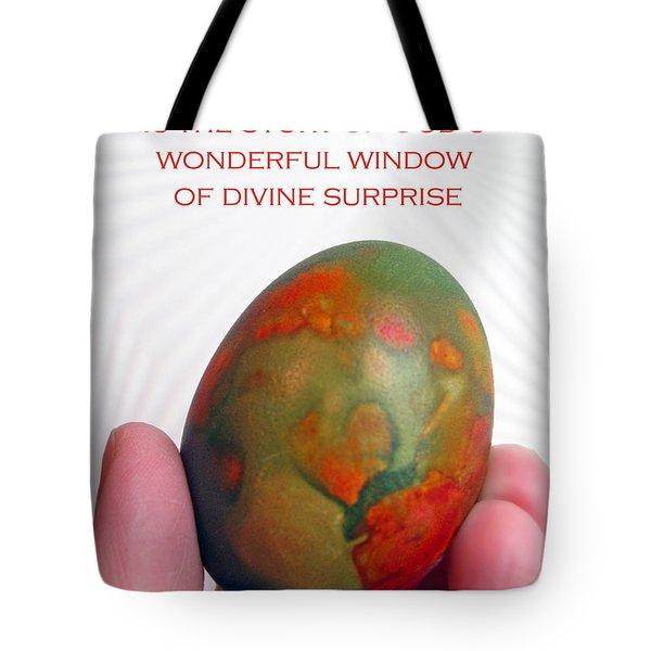 Divine Surprise Tote Bag by Ausra Paulauskaite