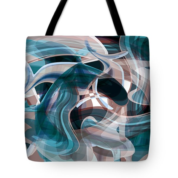 Diving Into Your Ocean 3 Tote Bag by Angelina Vick