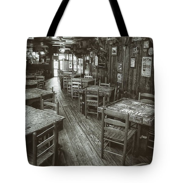 Dixie Chicken Interior Tote Bag by Scott Norris