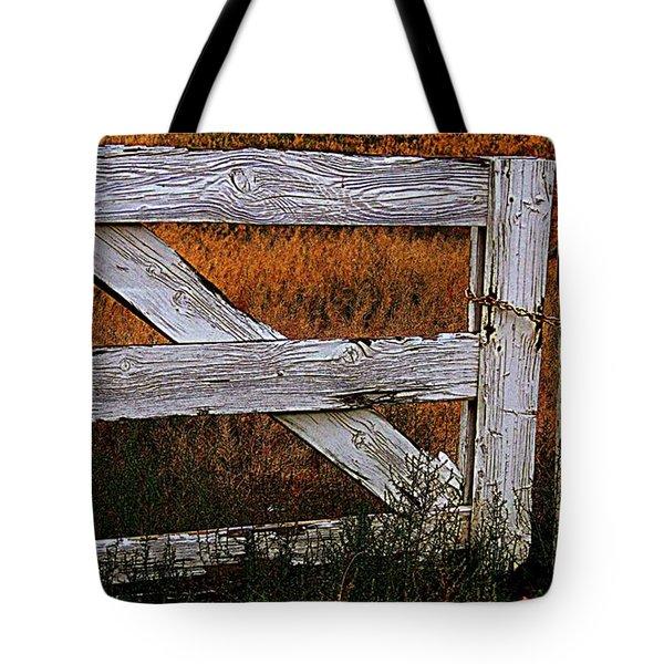 Do Not Enter Tote Bag by Bobbee Rickard