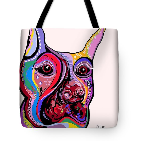 Doberman Tote Bag by Eloise Schneider