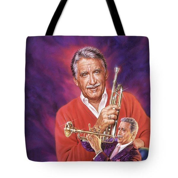 Doc Severinsen Tote Bag by Dick Bobnick