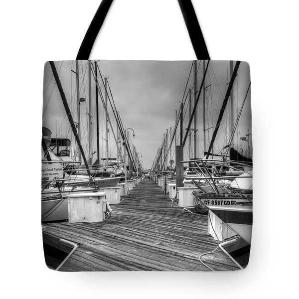 Dock Life Tote Bag by Heidi Smith