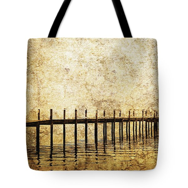 Dock Tote Bag by Skip Nall