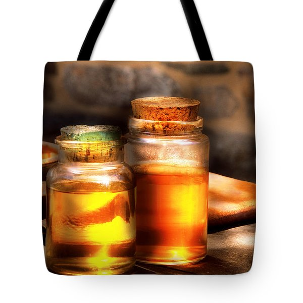 Doctor - Alchemy Made Easy  Tote Bag by Mike Savad