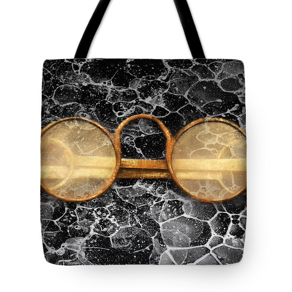 Doctor - Optometrist - Glasses sold here  Tote Bag by Mike Savad