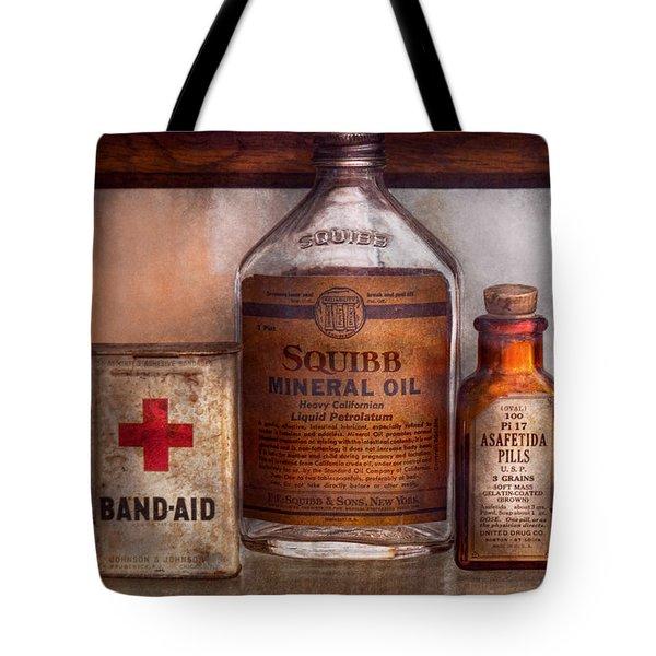 Doctor - Pharmacueticals  Tote Bag by Mike Savad