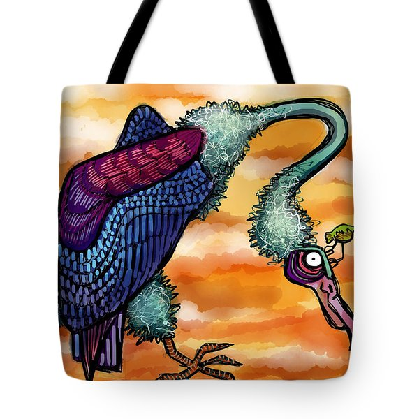 Doctor Vultura Tote Bag by Kelly Jade King