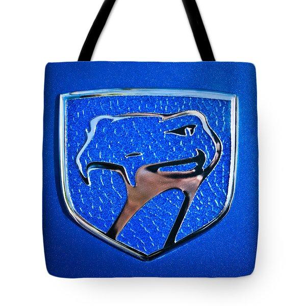Dodge Viper Emblem -217c Tote Bag by Jill Reger