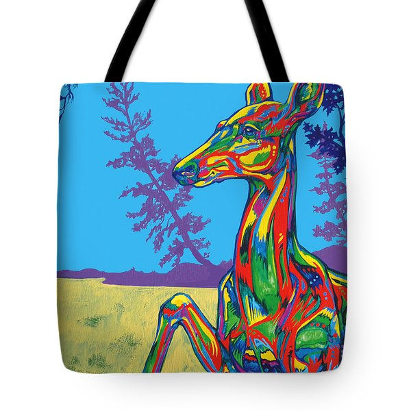Doe Tote Bag by Derrick Higgins