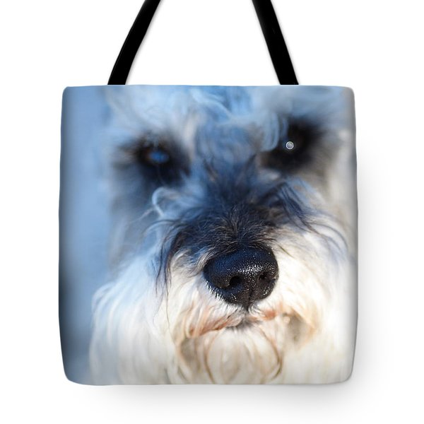 Dog 2 Tote Bag by Wingsdomain Art and Photography
