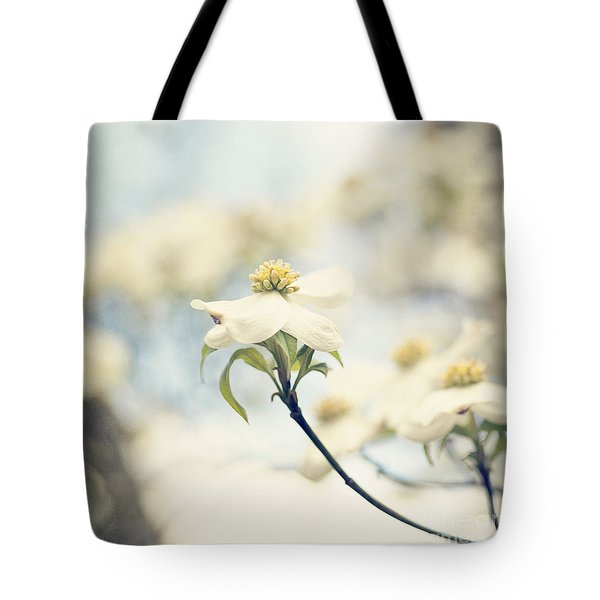 Dogwood No 1 Tote Bag by Erin Johnson
