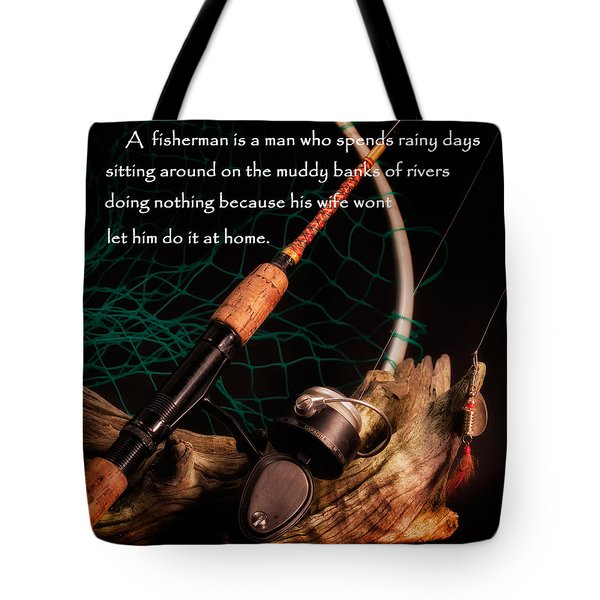 Doing Nothing Tote Bag by Bill  Wakeley