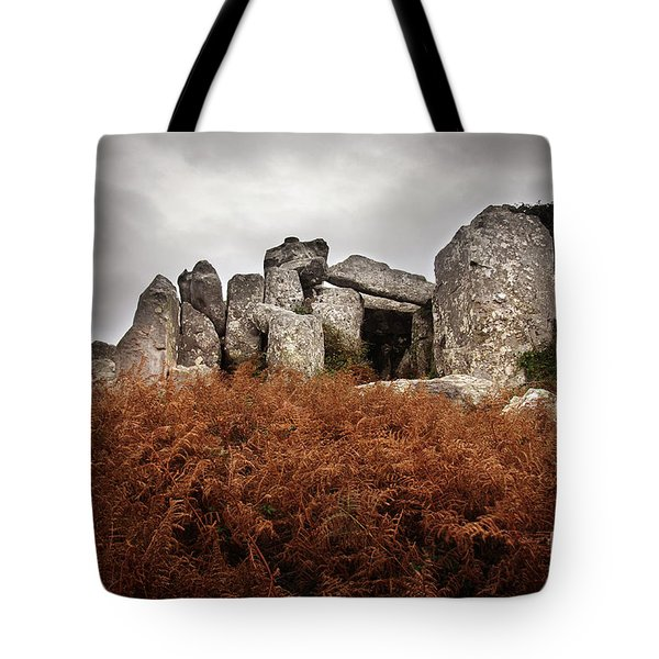 Dolmen Tote Bag by Carlos Caetano