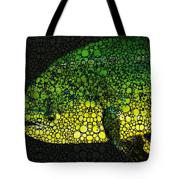 Dolphin Fish Art By Sharon Cummings Tote Bag by Sharon Cummings