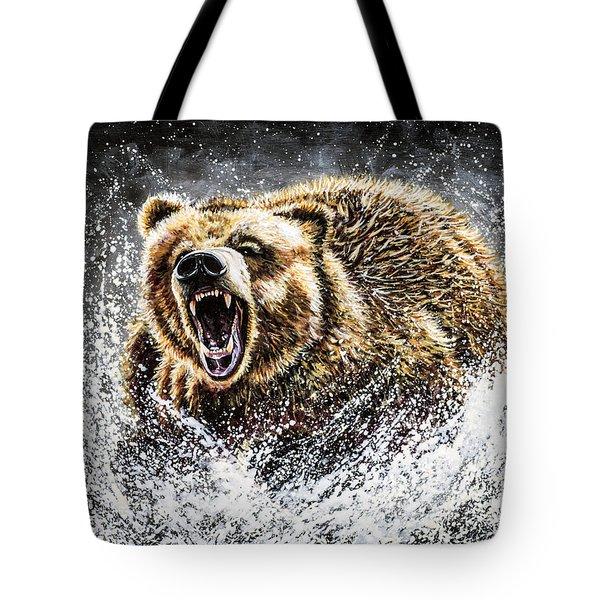 Dominance Tote Bag by Teshia Art