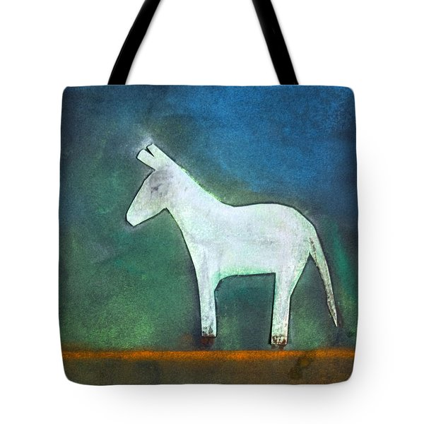 Donkey, 2011 Oil On Canvas Tote Bag by Roya Salari