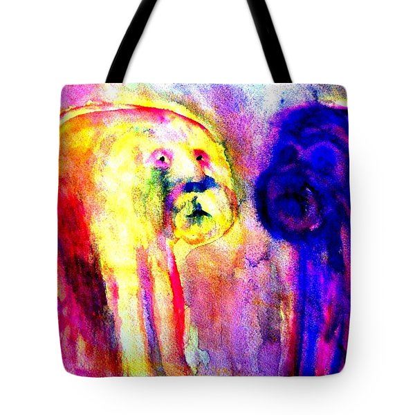Dont Ask Me  Tote Bag by Hilde Widerberg