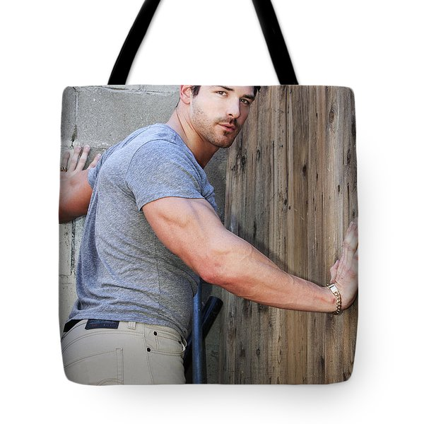 DONT FENCE ME IN Palm Springs Tote Bag by William Dey