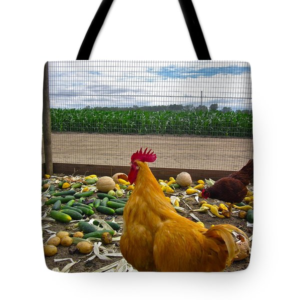 Don't Forget Your Veggies ... Tote Bag by Gwyn Newcombe