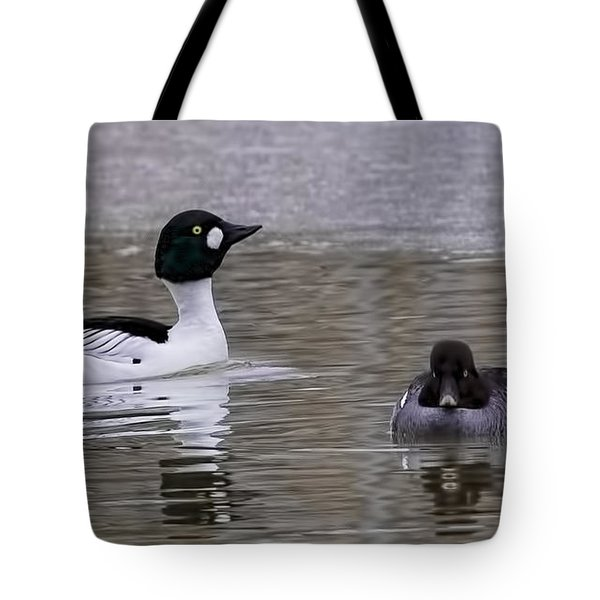 dont know him  by Leif Sohlman Tote Bag by Leif Sohlman