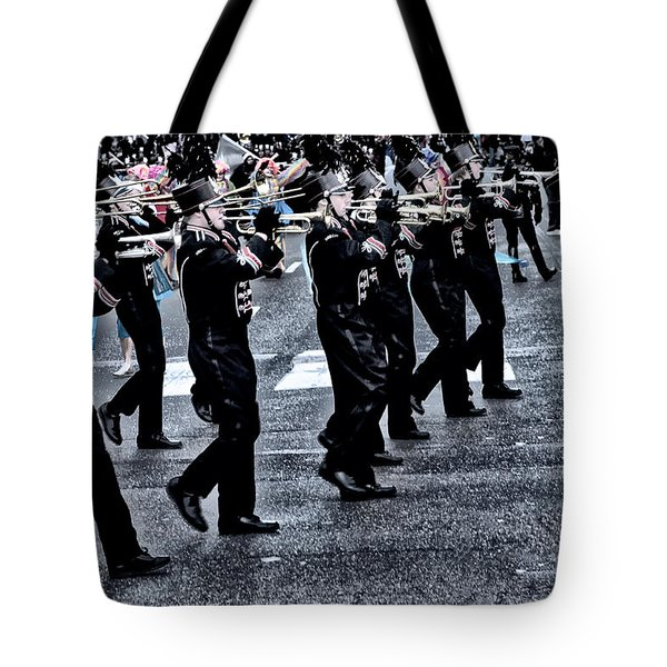 Don't Let The Parade Pass You By Tote Bag by Bill Cannon