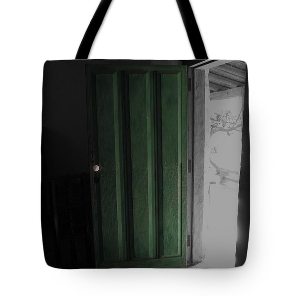 Doors Open Tote Bag by Cheryl Young