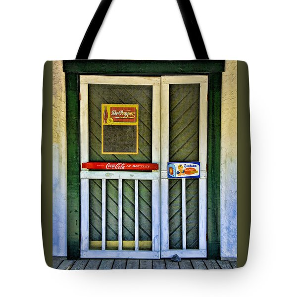 Doorway To The Past Tote Bag by Kenny Francis