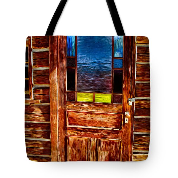 Doorway To The Past Tote Bag by Omaste Witkowski