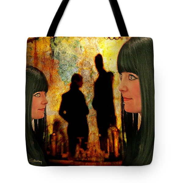 Doppelganger Tote Bag by Chuck Staley