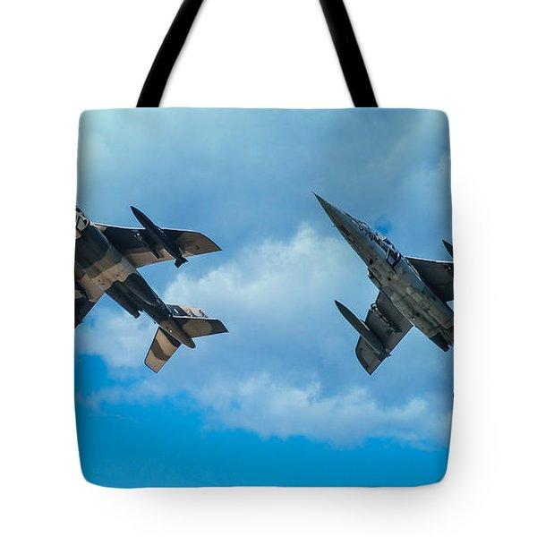 Dornier Alpha Jets Tote Bag by Bianca Nadeau