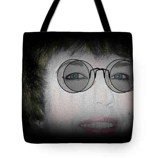 Double Vision Tote Bag by Barbara S Nickerson
