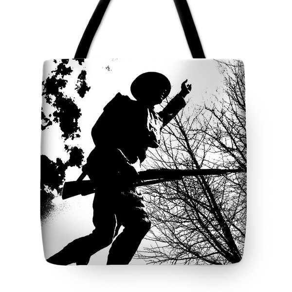 Doughboy Tote Bag by Chris Berry